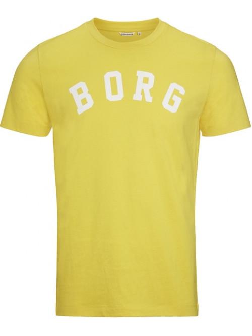 Herren T-Shirt Björn Borg Berny Tee Maize Yellow gelb