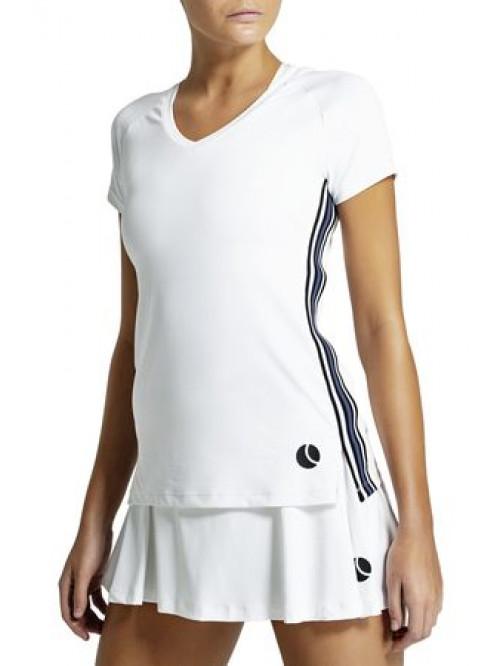 T-Shirt Björn Borg Tesia V Tee Brilliant White weiß