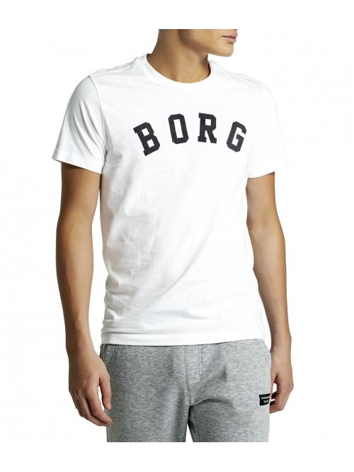 Herren T-Shirt Björn Borg Berny Tee Brilliant White weiß