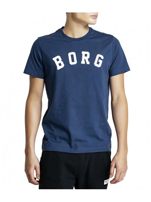 Herren T-Shirt Björn Borg Berny Tee Insignia Blue blau