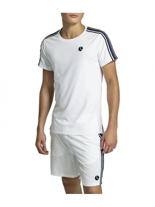 T-Shirt Björn Borg Tomlin Tee Brilliant White weiß