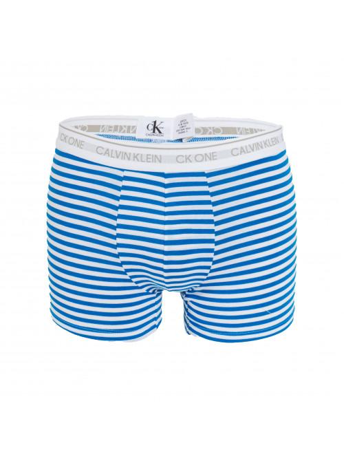 Herren Boxer Calvin Klein CK One Stripes Weiß-Blau