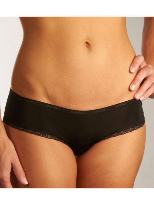 Damen Höschen Calvin Klein Carousel Bikini schwarz + weiß 3-pack
