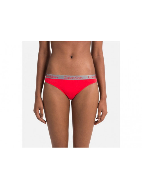 Damen Tangahöschen Calvin Klein Radiant Cotton Thong Orange