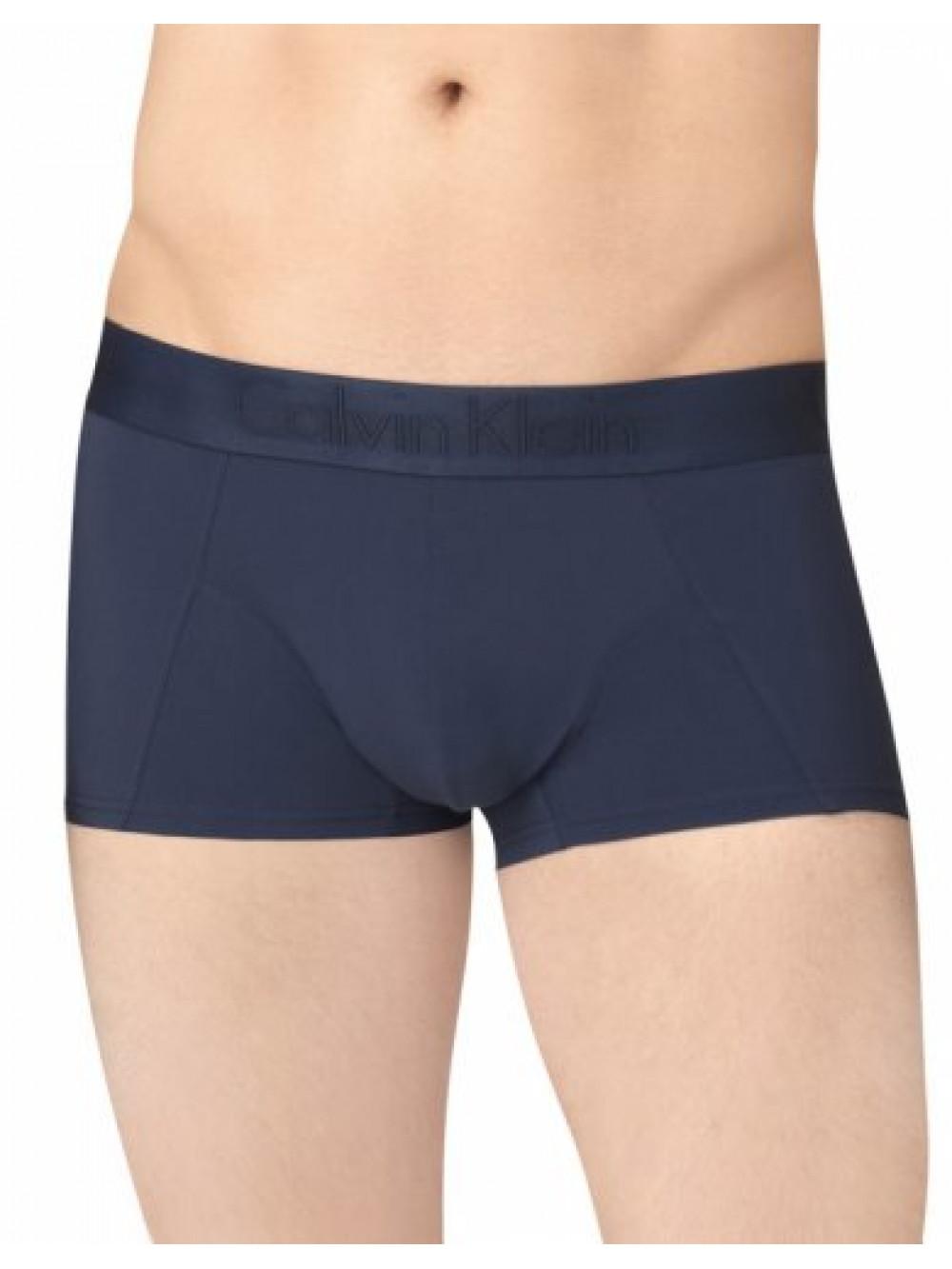Herren Boxershorts Calvin Klein Black Micro Blau