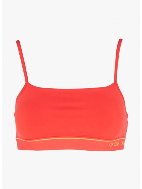 Damen Sport-BH Calvin Klein CK ONE Unlined Bra Rot