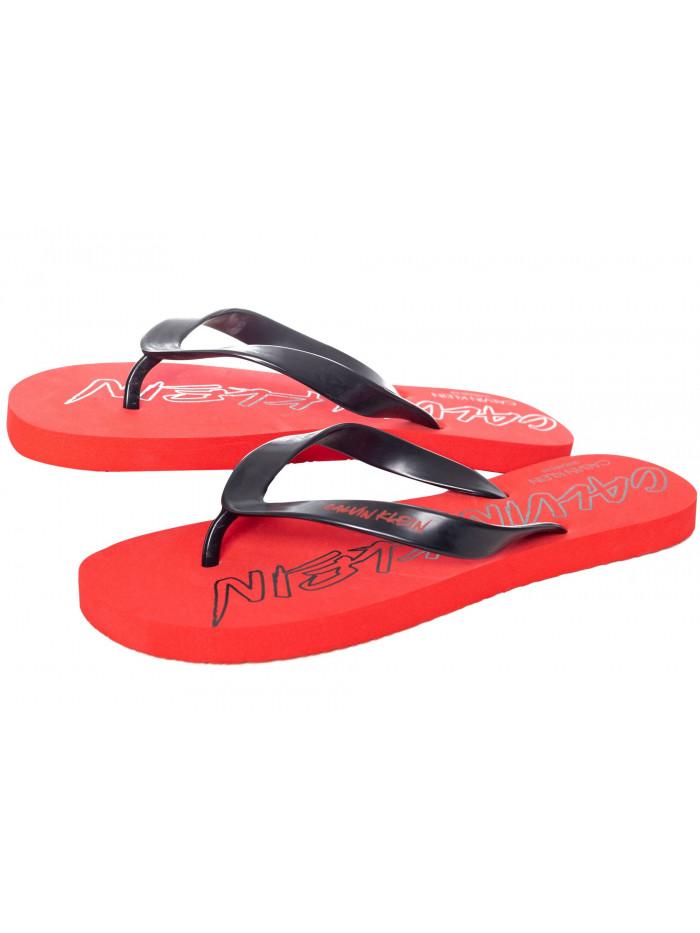 Herren Flip-Flops Calvin Klein Risk Red / Rot