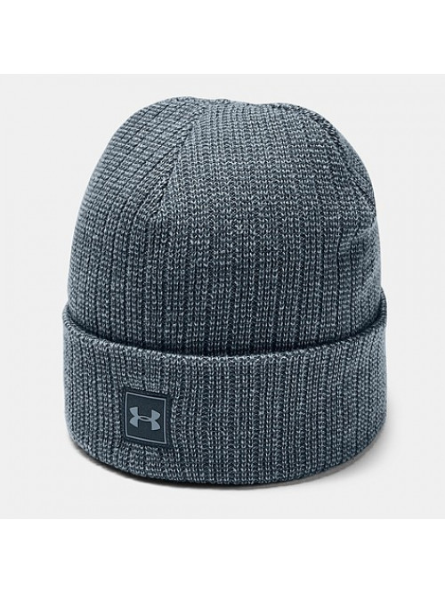 Herren Mütze Under Armour Men's Truckstop Beanie Wire Grau