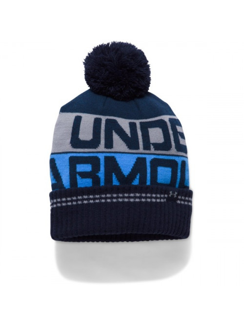 Herren Mütze Under Armour Retro Pom Beanie Blau