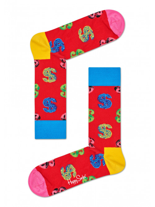 Socken Happy Socks Andy Warhol Dollar