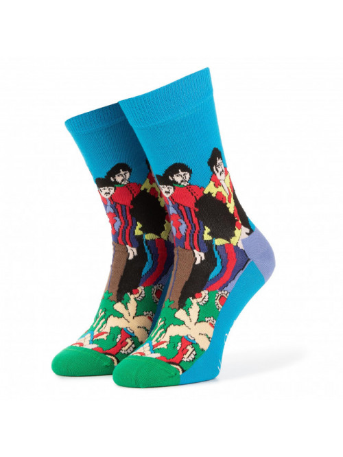 Socken Happy Socks Pepperland x The Beatles Eisblau