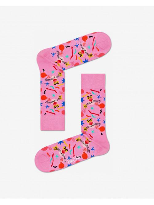 Socken Happy Socks Pink Panther Bomb Voyage Rosarot