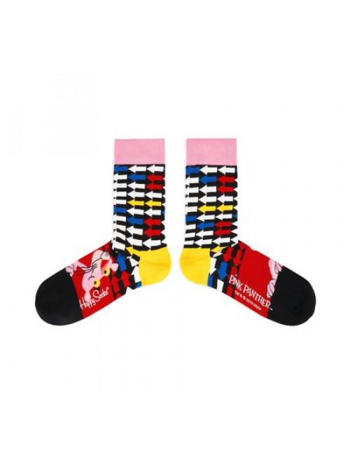 Socken Happy Socks Pink Panther Jet Pink