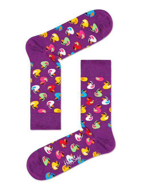 Socken Happy Socks Rubber Duck Lila
