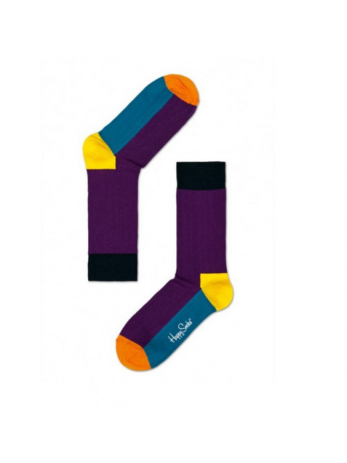 Socken Happy Socks Five Color - Lila