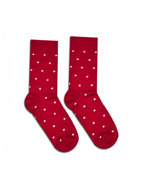 Socken Gentleman - Weinrot