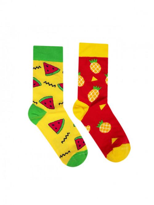 Socken Melone & Ananas