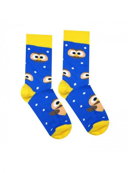 Socken Eule