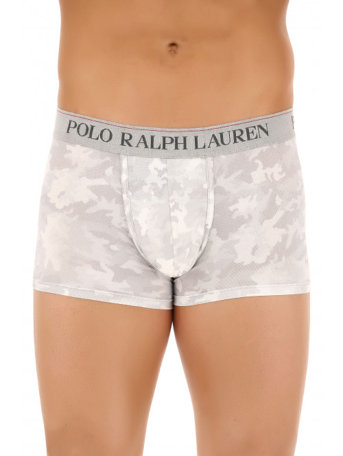Herren Boxer Polo Ralph Lauren Classic Trunk Grey Digital Camo Grau