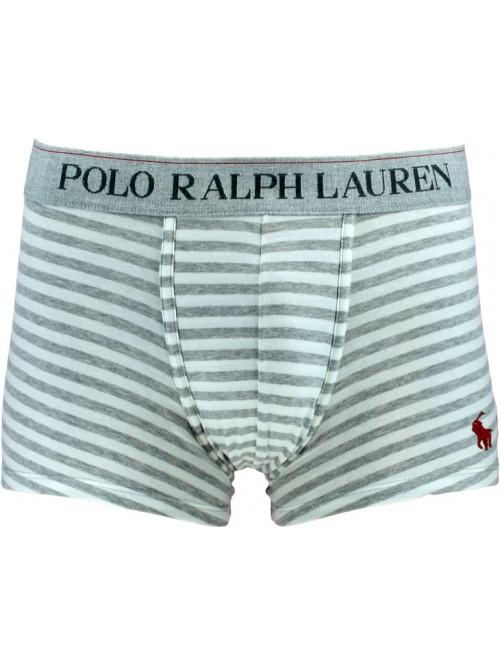 Herren Boxer Polo Ralph Lauren Polo Classic Trunk Spring Heather Nevis Stripe Grau