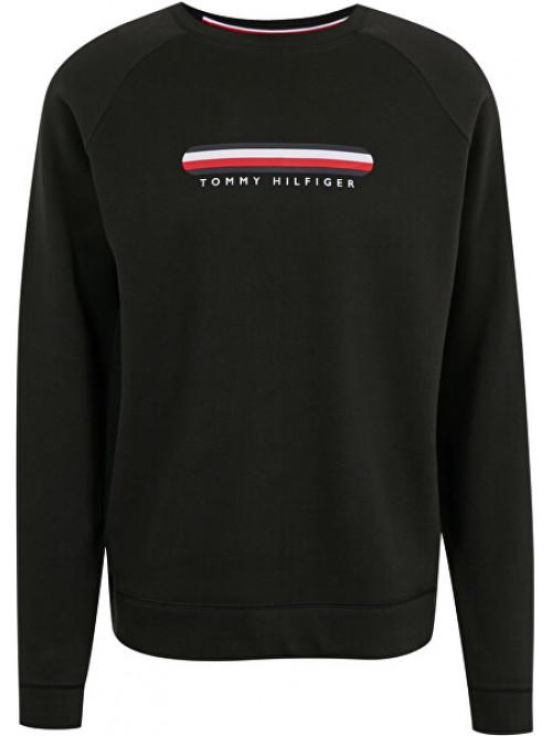 Herren Sweatshirt Tommy Hilfiger SEACELL-TRACK TOP Schwarz