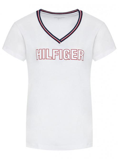 Damen T-Shirt Tommy Hilfiger CN SS Tee Regular Fit Weiß
