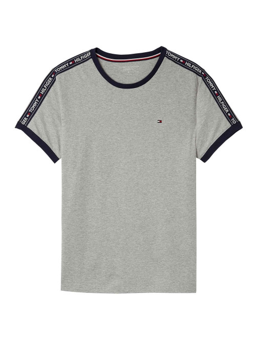 Herren T-Shirt Tommy Hilfiger RN TEE SS Grau
