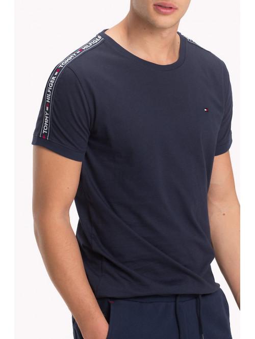 Herren T-Shirt Tommy Hilfiger RN TEE SS Navy
