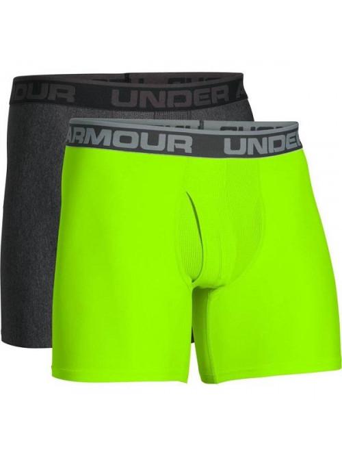 Herren Boxershorts Under Armour BOXERJOCK 2-pack, grün und grau