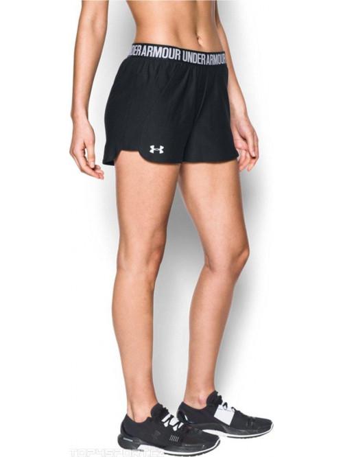 Damen Shorts Under Armour Play Up 3 schwarz