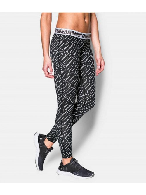 Damen Leggings Under Armour All Over schwarz