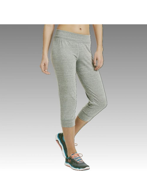 Damen Capri Under Armour grau