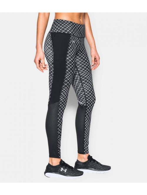 Damen Leggings Under Armour Fly By schwarz