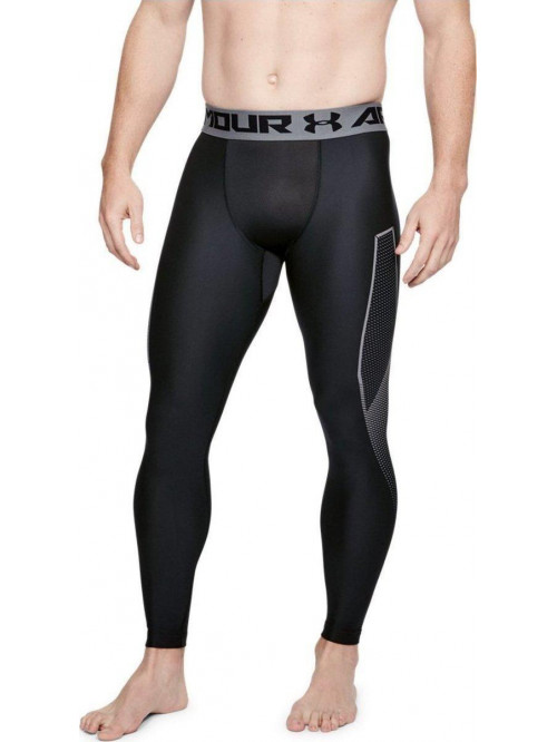 Herren kompression Leggings Under Armour Graphic Schwarz