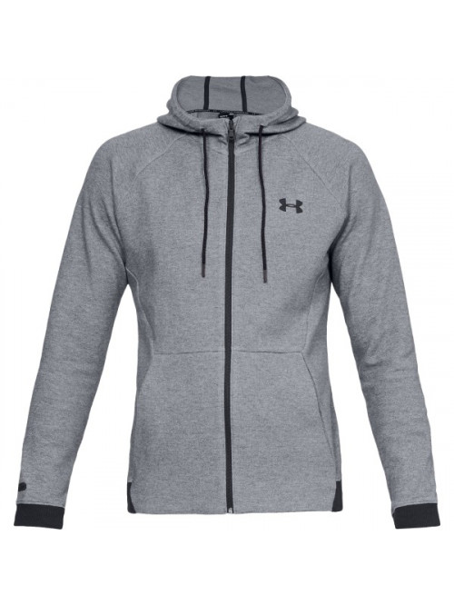 Herren Sweatshirt Under Armour Unstoppable 2X KNIT FZ Gray Steel Grau