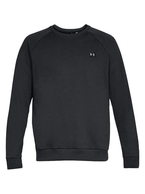 Herren Sweatshirt Under Armour Rival Fleece Crew Schwarz