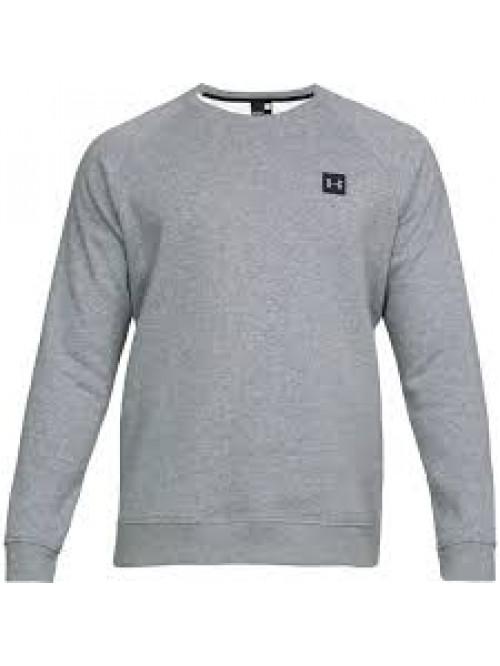 Herren Sweatshirt Under Armour Rival Fleece Crew Grau