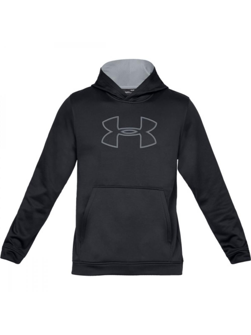 pretty nice 2102a be295 Herren Sweatshirt Under Armour Performance Fleece Graphic Hoody Schwarz