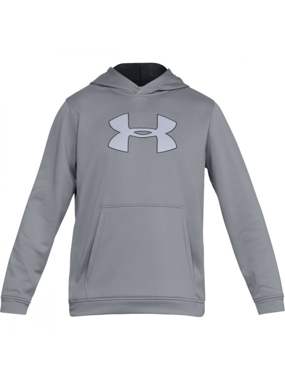 new product fbec0 0c95c Herren Sweatshirt Under Armour Performance Fleece Graphic Hoody Grau
