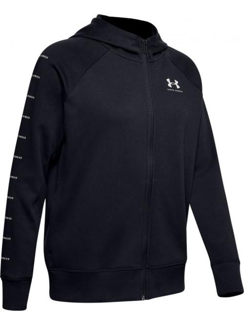 Damen Sweatshirt Under Armour Rival Fleece Sportstyle Schwarz
