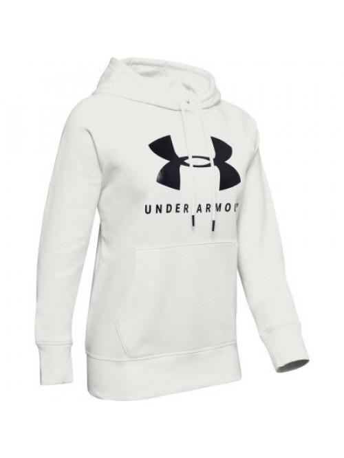 Damen Sweatshirt Under Armour Tech Hoody Weiß