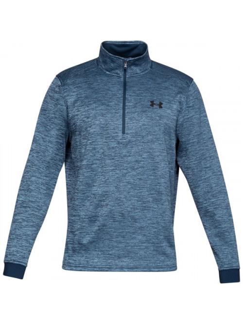 Herren Sweatshirt Under Armour Fleece 1/2 Zip Blau
