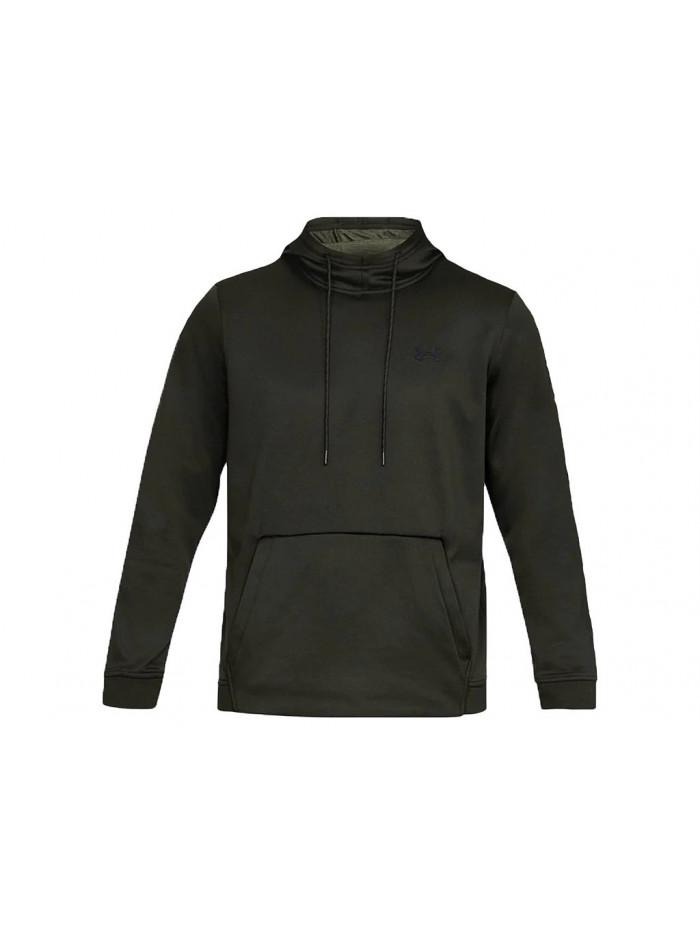 Herren Sweatshirt Under Armour Fleece PO Hoodie Schwarz