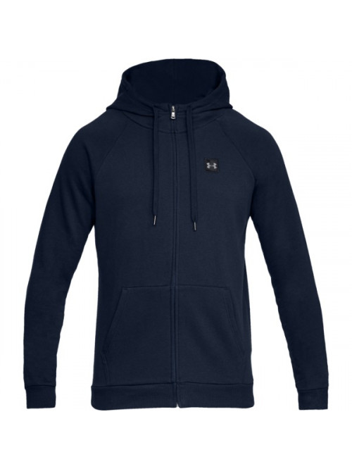 Herren Sweatshirt Under Armour RIVAL FLEECE FZ HOODIE Marine