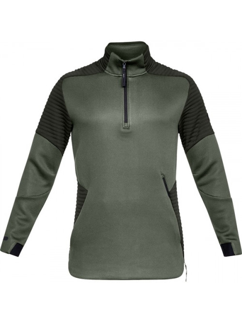 Herren Sweatshirt Under Armour Unstoppable Move 1/2 Zip Grün
