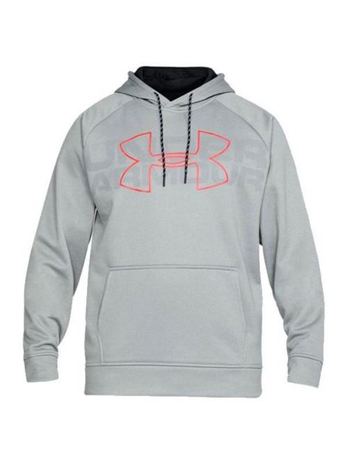 Herren Sweatshirt Under Armour CG Reactor Hoodie Grau