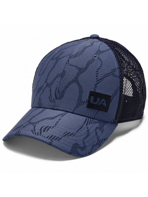 Cap Under Armour Blitzing Trucker 3.0 Blau-Grau