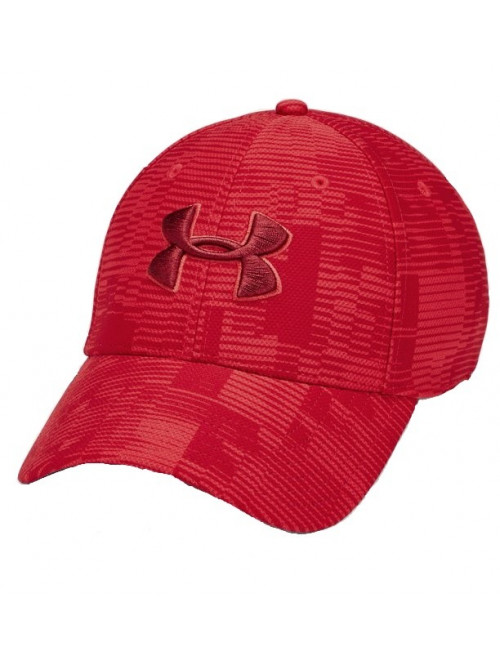 Kappe Under Armour Printed Blitzing Rot