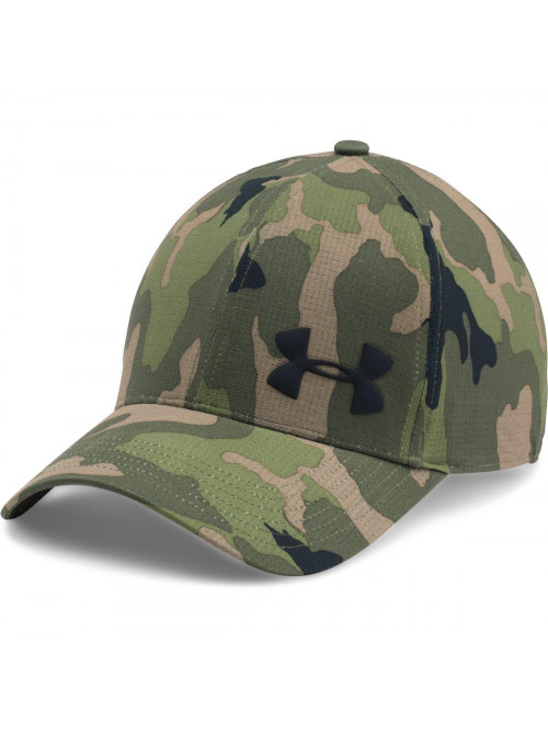 Herren Kappe Under Armour Airvent Core camo grün