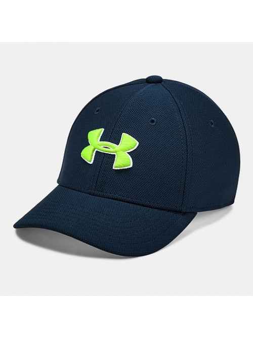 Kappe Under Armour Blitzing Marine Jungen